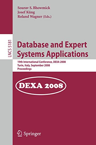 Database and Expert Systems Applications: 19th