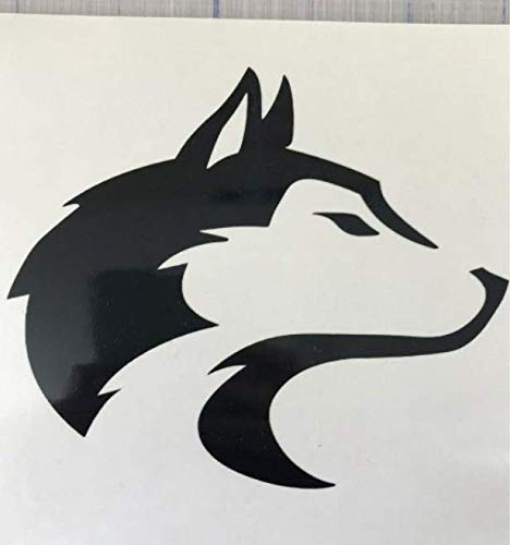 Husky//Wolf Decal 3.5 4.5 5.5Alaskan Malamute Dog Breed Laptop Mug Window Pet
