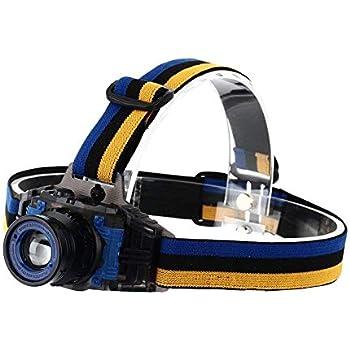 Uv Led Black Light Headlamp For Night Fishing Explorers