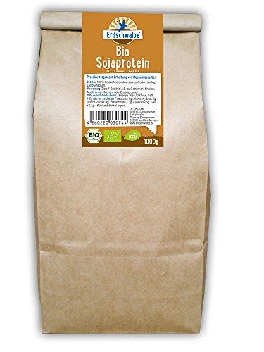 Erdschwalbe BIO Sojaprotein 1kg-Beutel - 92% Proteingehalt