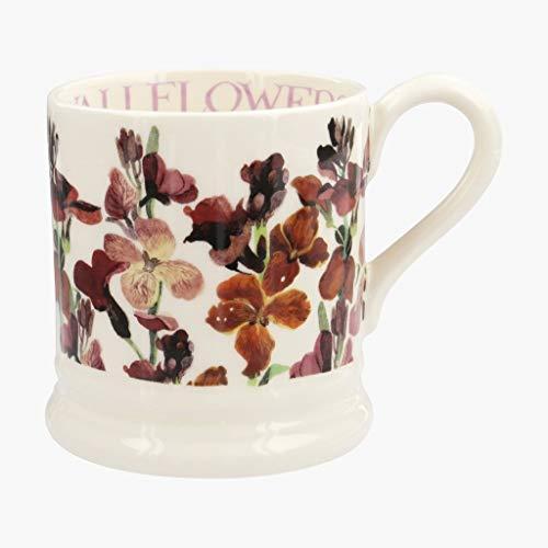 Emma Bridgewater Red Wallflowers Half Pint - Pint 1/2 Mug Flowers