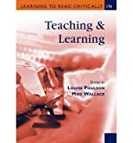 img - for [(Learning to Read Critically in Teaching and Learning )] [Author: Louise Poulson] [Oct-2003] book / textbook / text book