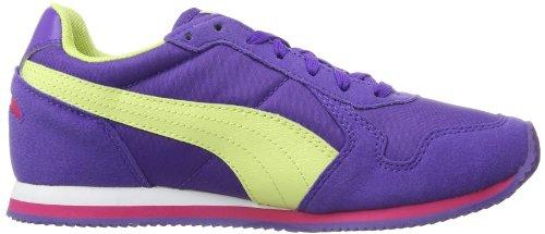 Puma St Runner Jr - Zapatillas de Deporte de tela niño púrpura - Purple - Violett (prism violet-sunny lime-beetroot purple 03)