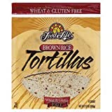 Gluten Free Tortilla Brown Rice Frozen - 12 oz (Pack of 12)