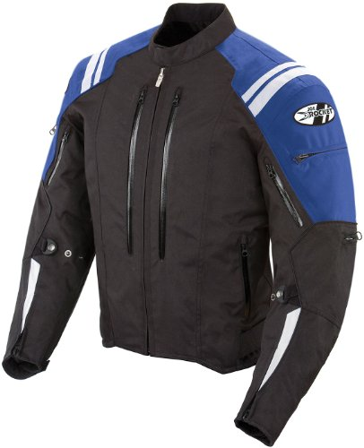 Joe Rocket Atomic 4.0 Men's Riding Jacket (Blue, X-Large)