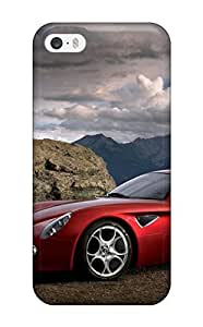 Awesome Case Cover/iphone 5/5s Defender Case Cover(alfa Romeo 8c 7)