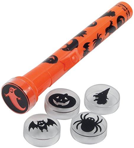 Loftus International Spooky 5 Different Lenses Halloween Flashlight (6 Piece), 6