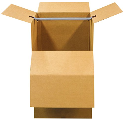 "Bankers Box SmoothMove Wardrobe and Moving Boxes, 24"" x 24"" x 40"", 1 Pack (7711002)"
