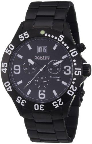 Nautec No Limit Men's Watch(Model: VF QZ-BD/IPIPBKBK-WH)
