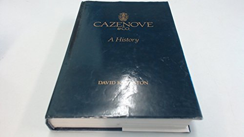 Cazenove and Co: A History