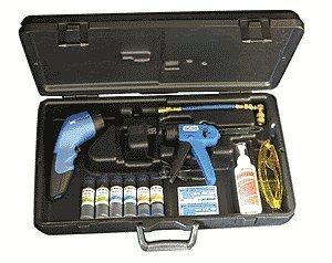 Robinair 16330 UV Leak Detection, HVAC-R Dye Kit, 12 LED array, Cordless, Rechargeable UV Light