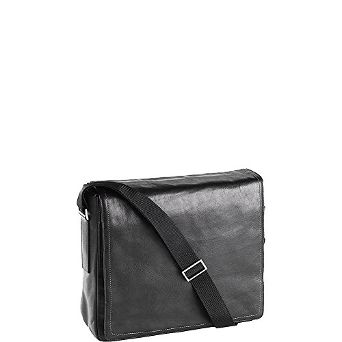 Clava Tuscan Square Messenger (Tuscan Black) by Clava