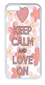 iPhone 6 Plus Cases, ACESR Plastic Hard Case Cover for Apple iPhone 6 Plus (5.5inch Screen) White Border Keep...