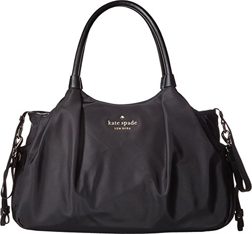 Image of the Kate Spade New York Women's Watson Lane Stevie Baby Bag Black Handbag