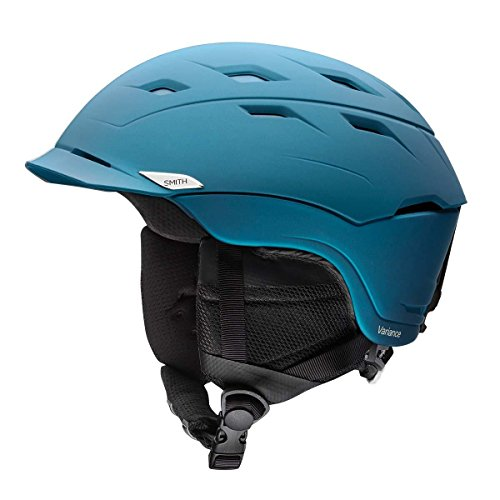 Smith Optics Variance Adult Mips Ski Snowmobile Helmet - Matte Typhoon/Medium
