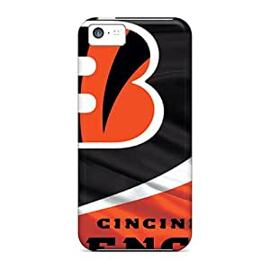 Shockproof Hard Cell-phone Case For Apple Iphone 5c With Allow Personal Design Stylish Cincinnati Bengals Series JohnPrimeauMaurice