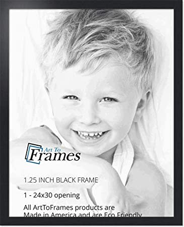 Amazoncom Arttoframes 24x30 Inch Black Picture Frame