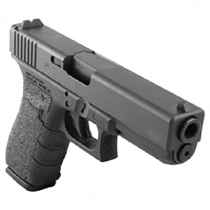 TALON Grips for Glock 20,21,40,41 (Gen4 No Backstrap) Black Granulate -  119G W/Free Sticker - Johnson Enterprises, LLC