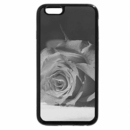iPhone 6S Plus Case, iPhone 6 Plus Case (Black & White) - The Rose