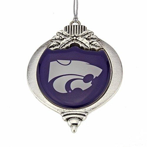 - MadSportsStuff Kansas State Wildcats Christmas Ornament