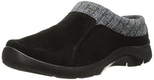Removable Footbed (Dansko Women's Emily Mule, Black Suede, 38 EU/7.5-8 M US)