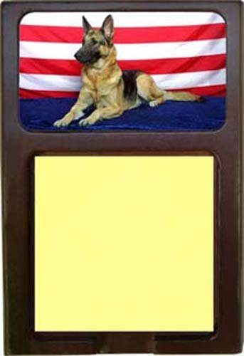 German Shepherd Sticky Note Holder ()
