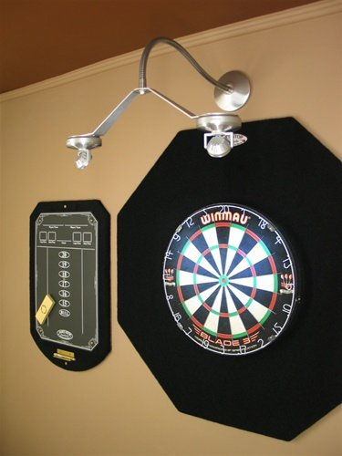 Cordless led dartboard light by dart center buy online