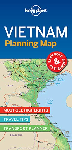 (Lonely Planet Vietnam Planning Map)