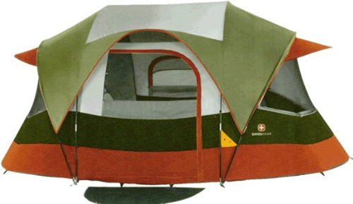 Swiss Gear Valais 14- by 11-Foot Family Dome Tent, Outdoor Stuffs