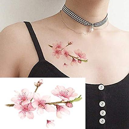 Yangll Moda Coloreada Impermeable Etiqueta Engomada del Tatuaje ...