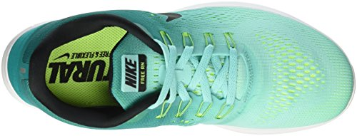 Nike Free RN Hyper Turquoise/Black/Rio Teal/Volt Men's Running Shoes buy cheap huge surprise ViVmAra