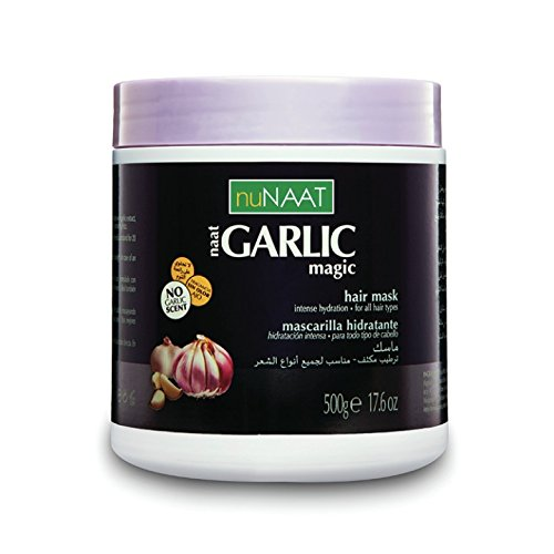 Nunaat Naat Garlic Magic Hair Mask, 17.6 Ounce