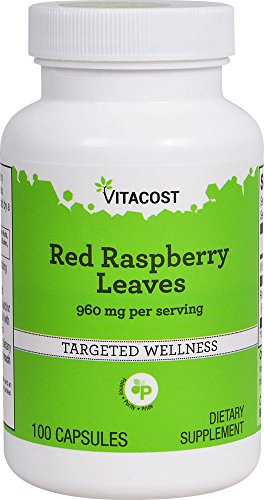 Vitacost Red Raspberry Leaves -- 960 mg per serving - 100 ()