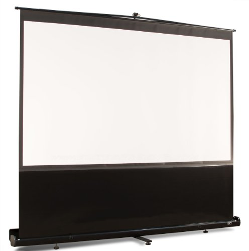 Elite screens ezcinema series 100 inch 16 9 portable for 100 floor 16