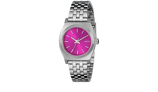 De InoxidableColor Pulsera Nixon A3991972 Reloj MujerAcero mnv08wON