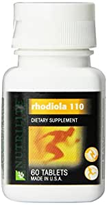 NUTRILITE® Rhodiola 110 Supplement Helps Increase Mental and Physical Performance - 60 Count