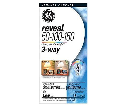 GE Lighting 97785 50/150RVL, 3-Way, Pack of 12