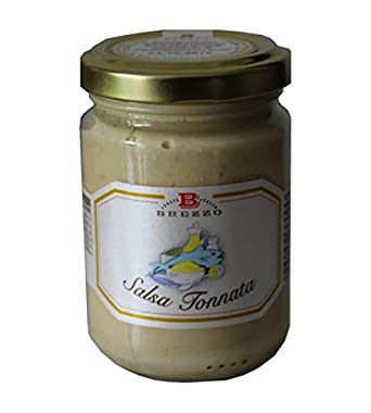 Brezzo - Salsa de Atún Artesanal (Salsa Tonnata) 130 gr: Amazon.es: Alimentación y bebidas