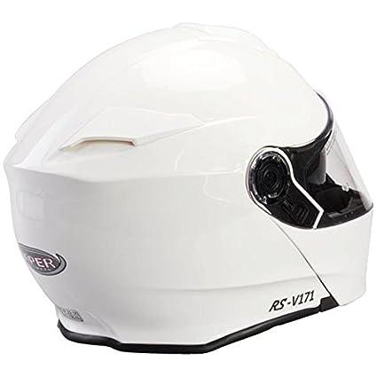Free OF211 Oxford Motorbike Helmet Bag 61-62cm Viper RS-V171 Flip up Front Helmet BLUETOOTH Motorbike Helmet Gloss Black XL