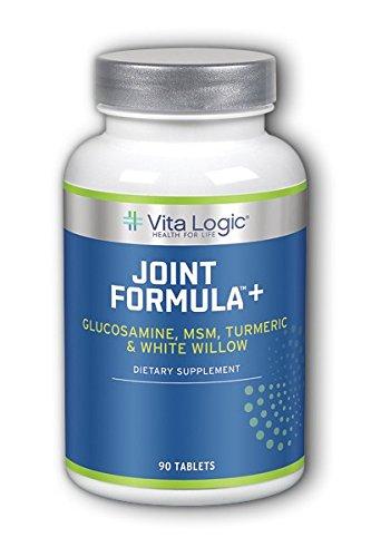 Vita Logic Joint Formula Plus, Blue, 90 (Glucosamine Chondroitin Msn Tablets)