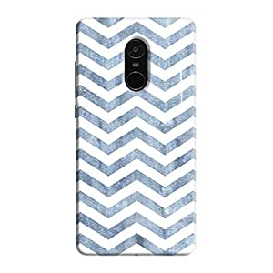 Cover It Up - Denim Bubblegum Print Redmi Note 5 Hard Case