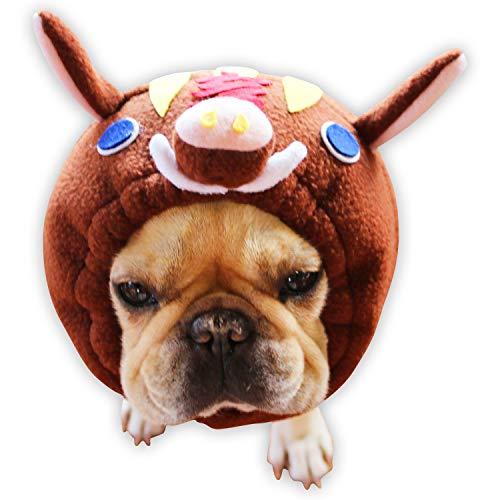 DogMarine 개 ヅラ 장 육십갑자 개 ヅラ 亥 멧돼지 문자가 포함 된 M 사이즈 / DogMarine Dog Zuraya Zodiac Dog Zura Shiru Boar With Character SM Size