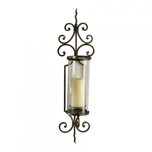 Rust 30In. Pavillion Wall Candleholder 01594