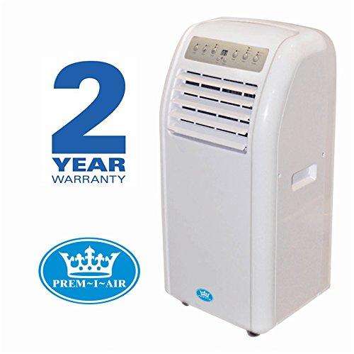 Prem-I-Air 9000 BTU/Hour Portable Air Conditioner with Remote Control and Timer