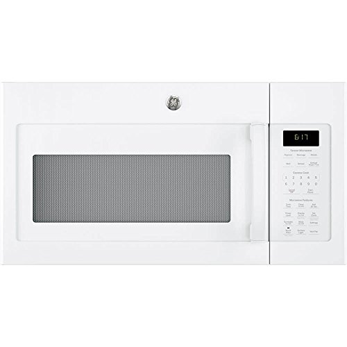 GE 1.7 Cu. Ft. White Over-The-Range Microwave
