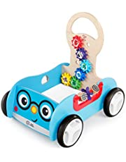 Baby Einstein Discovery Buggy Wooden Activity Walker & Wagon, 12 months +
