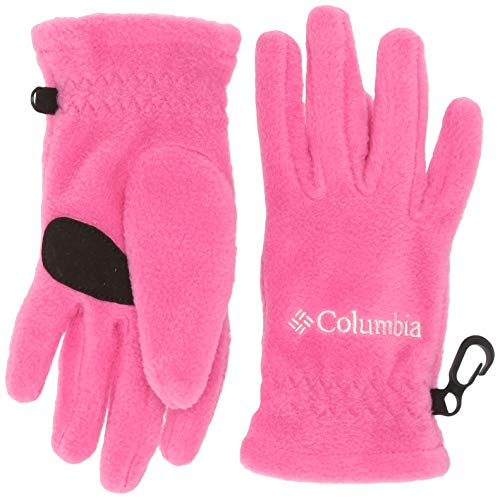 Columbia Kids Fast Trek Glove, Pink Ice, Large