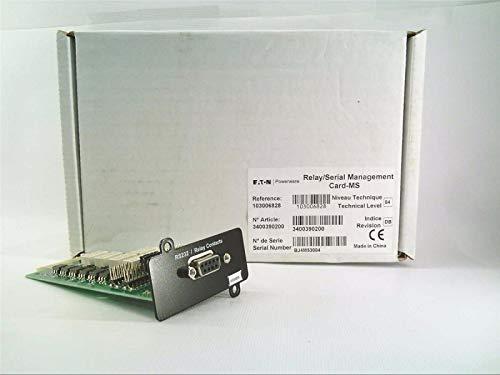 - CUTLER HAMMER 103006826 CONNECTUPS MS Network Management Card