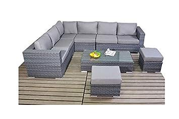 Alexander Anderson platine en rotin meubles de jardin Petit canapé d ...
