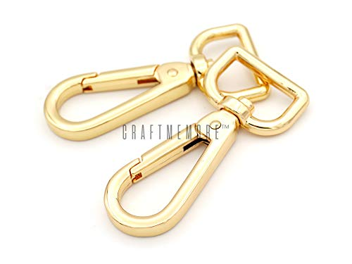Buckles & Hooks Arts,crafts & Sewing Aspiring 5pcs Pure Brass Lobster Snap Clip Buckle For Wallet Handbag Belt Dog Collar Clasp Hook Diy Keychain Luggage Strap Swivel Buckle With The Best Service